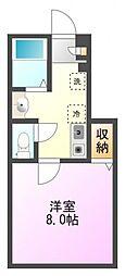 STUDIO(ステュディオ)[1階]の間取り