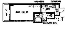 Famille Fuji[308号室号室]の間取り