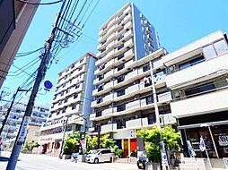 千葉県松戸市金ケ作の賃貸マンションの外観