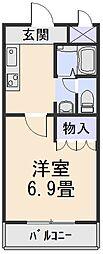 ルミナスハイムII[2階]の間取り
