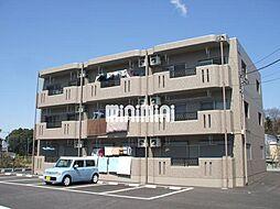 栃木県宇都宮市岩曽町の賃貸マンションの外観