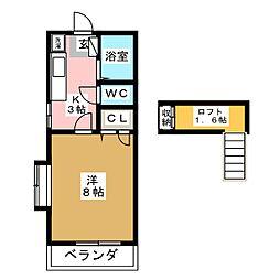 エクセルMII[2階]の間取り