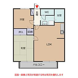 サンライフ飯田[202号室号室]の間取り