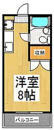 ツインマアSHIMIZU[1階]の間取り
