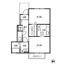 Park&HouseII(パークアンドハウスツウ)[1階]の間取り