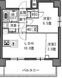 S-RESIDENCE新御徒町West[1003号室号室]の間取り