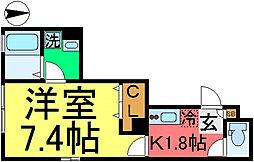 D-room松島1丁目[102号室]の間取り