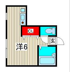 ai court[2階]の間取り