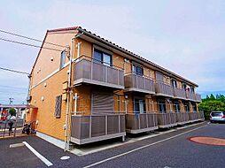 東京都清瀬市野塩1丁目の賃貸アパートの外観