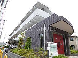 東京都調布市深大寺南町5丁目の賃貸マンションの外観