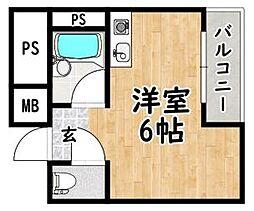 アイエムタワー[4階]の間取り