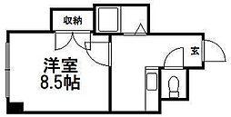 北海道札幌市白石区菊水一条1丁目の賃貸マンションの間取り