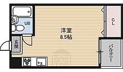 REBANGA江坂AP[5階]の間取り