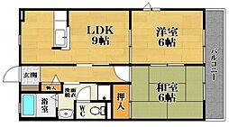 アーバンハイツ A棟[1階]の間取り