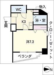 エフオート本郷[6階]の間取り