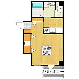 Daiki Place千本[203号室]の間取り