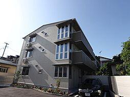 福岡県福岡市中央区鳥飼3丁目の賃貸アパートの外観