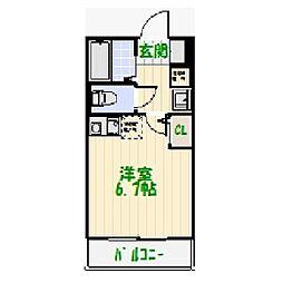加平3丁目新築アパート[1階]の間取り