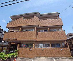 京都府京都市右京区梅津北浦町の賃貸マンションの外観