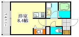 V-room1[1階]の間取り
