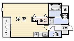 サンシャインIII[302号室]の間取り