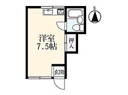 アパートメント 12[1階]の間取り