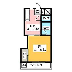 新葵ビル[3階]の間取り
