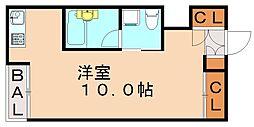 西片江アパートメント[2階]の間取り