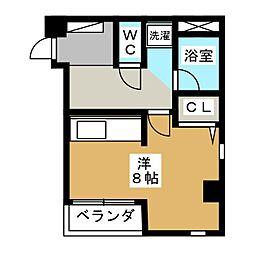 杉庄ハイツII[2階]の間取り
