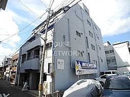 京都府京都市左京区新先斗町の賃貸マンションの外観