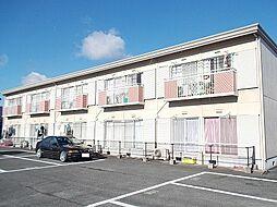 岡山県総社市中央6丁目の賃貸アパートの外観