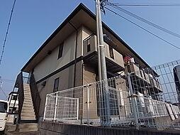兵庫県明石市林1丁目の賃貸アパートの外観