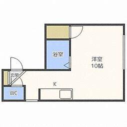 ドリームハウス26[3階]の間取り