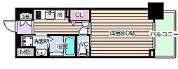 ディクス梅田東レジデンス[7階]の間取り