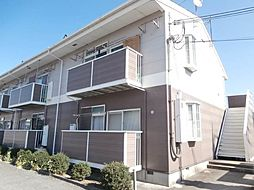 和歌山県紀の川市中井阪の賃貸アパートの外観