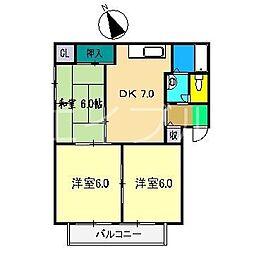 シャーメゾン神田[1階]の間取り