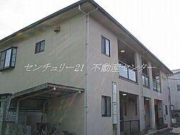 岡山県岡山市中区浜3丁目の賃貸アパートの外観
