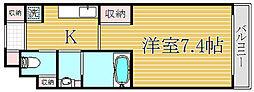 プレミアコート桜台[4階]の間取り