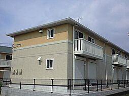 福岡県八女市本村の賃貸アパートの外観