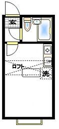 ベルピア北松戸第2[2階]の間取り