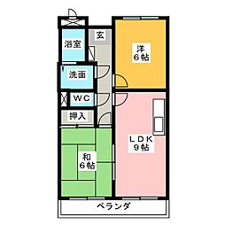 LimpiaGrace[1階]の間取り