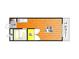 ハートフル青山[3階]の間取り