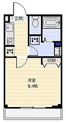 Be Terrace[303号室]の間取り