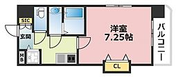Luxe深江橋[801号室号室]の間取り