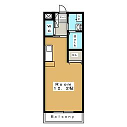 カーナ若宮[3階]の間取り