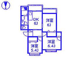 アムール[2階]の間取り