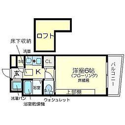 エステムコート新大阪IIIステーションプラザ[3階]の間取り