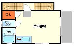 花ビル[2階]の間取り