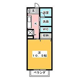 細谷駅 3.8万円