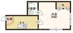 大阪府堺市中区土師町5丁の賃貸マンションの間取り